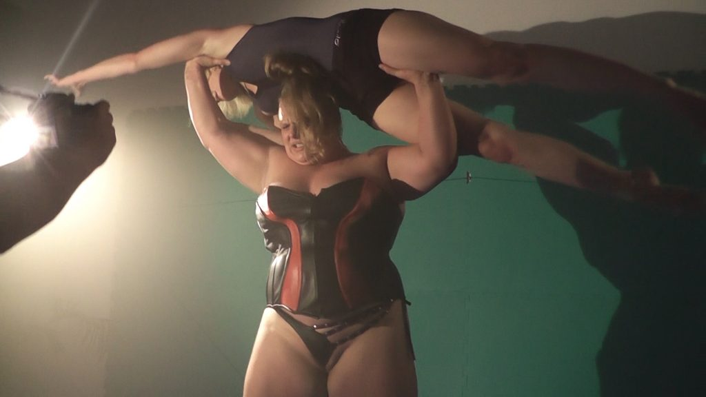 Anna Konda destroyed a Female Wrestler