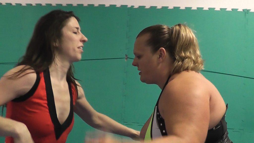 Female Wrestling Germany. Blaze vs Anna Konda