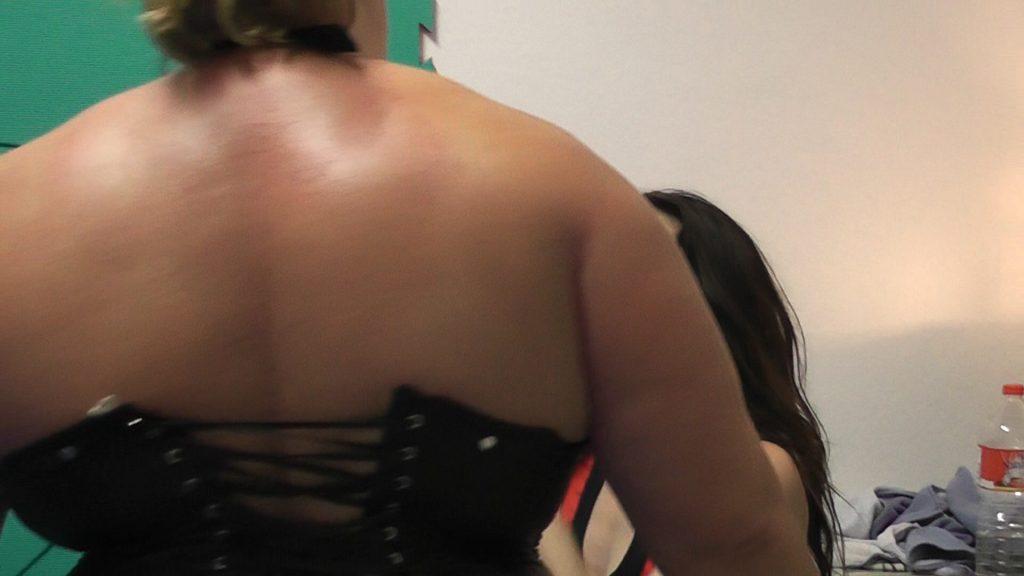 Anna Konda the Bull! Strongest Female Wrestler